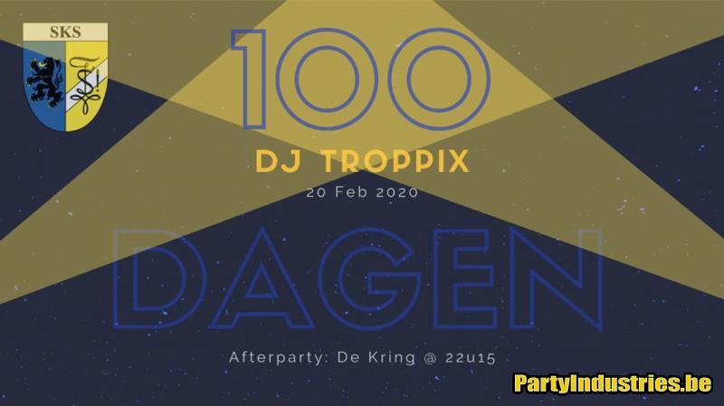 Flyer van 100 Dagenfuif SKS