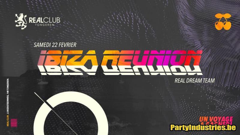 Flyer van Ibiza Reunion / Real club / Sat 22 Feb