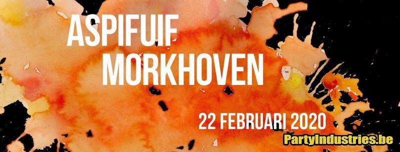 Flyer van Aspifuif Morkhoven 2020