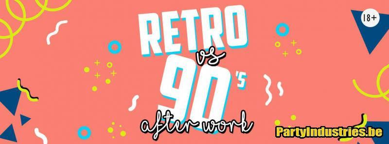 Flyer van Retro vs. 90's Afterwork 2.0 Putte