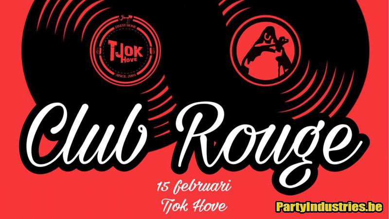 Flyer van Club Rouge