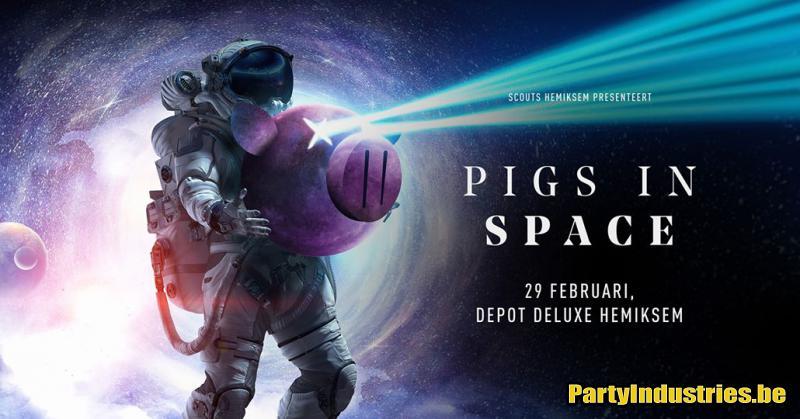Flyer van Pigs in Space 2020