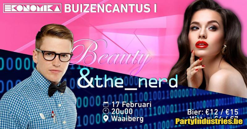 Flyer van Buizencantus I - Beauty & The Nerd