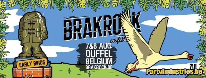 Flyer van Brakrock 2020