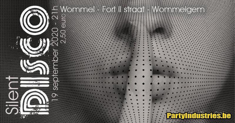 Flyer van Silent Disco - Wommel style