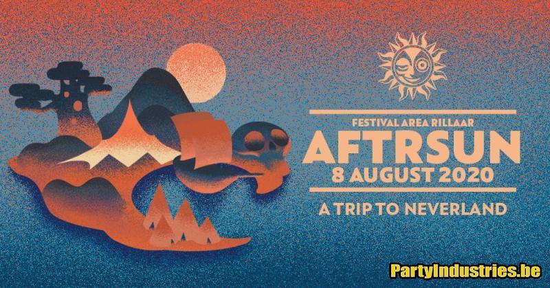 Flyer van Aftrsun | A trip to Neverland