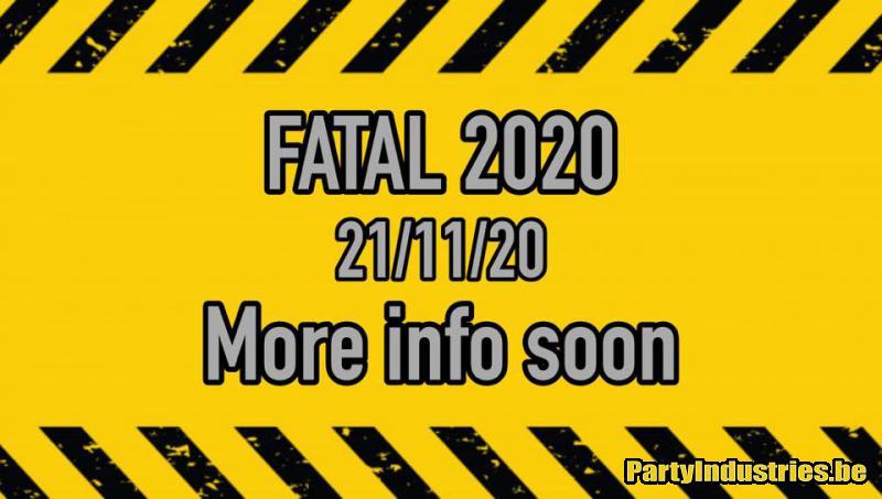 Flyer van FATAL 2020
