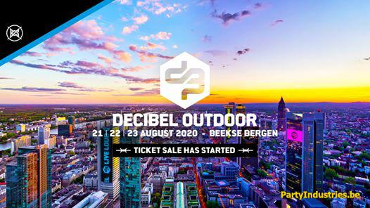 Flyer van Decibel Outdoor 2020 [official B2s Event]