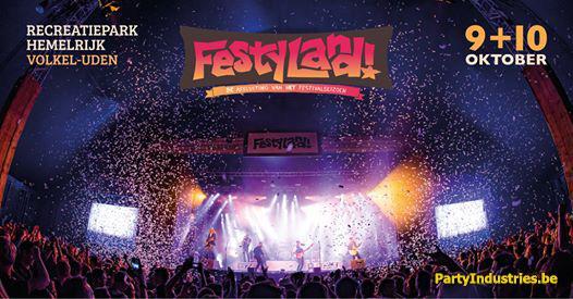 Flyer van Festyland 2020 - De Afsluiting Van Het Festivalseizoen!
