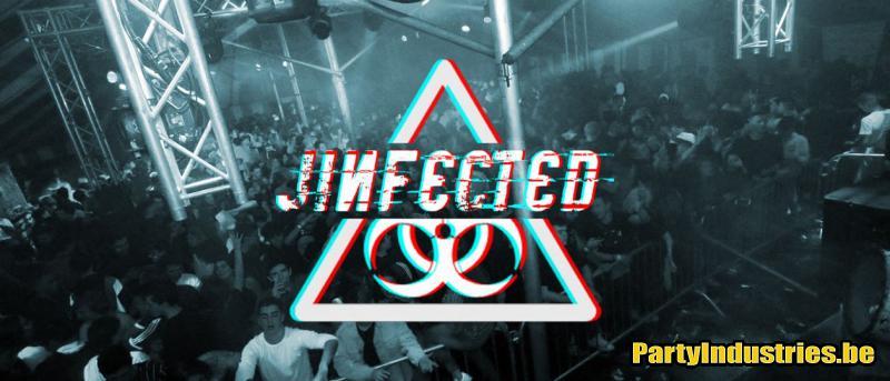 Flyer van Jinfected 2020