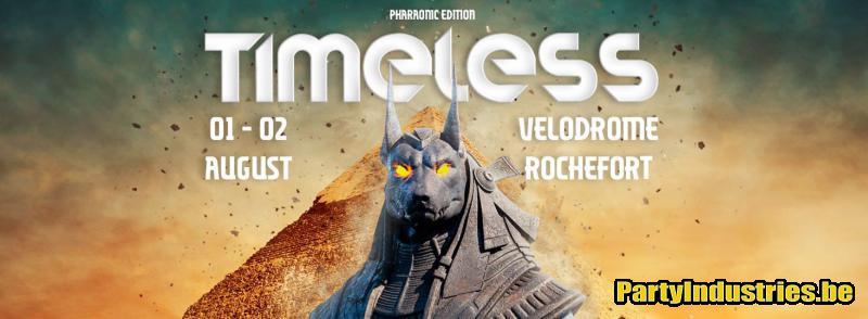 Flyer van Timeless Festival 2020 - dag 2