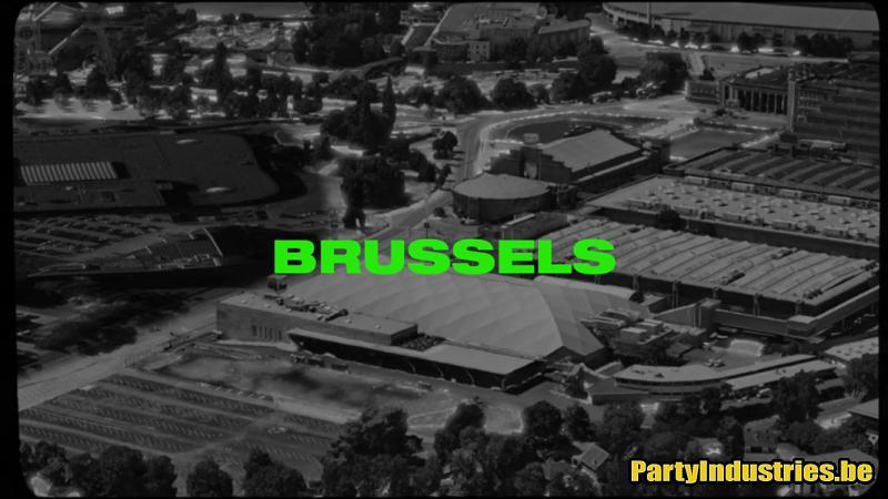 Flyer van Fcknye Brussels 2020