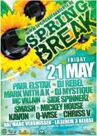 Flyer van Springbreak