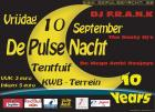 Flyer van De Pulse Nacht   10 Yrs