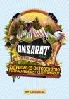 Flyer van Ansarat Festival (10yr)