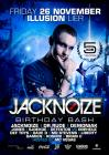 Flyer van Jacknoize Birthday Bash
