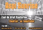 Flyer van Aspi Sunrise