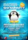 Flyer van Snowparty 2011