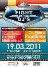 Flyer van Fight of the DJ's: Belgium vs Holland