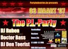Flyer van P.I.-Party