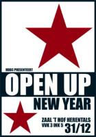 Flyer van Open Up New Year
