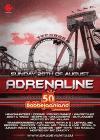Flyer van Adrenaline 2011