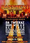 Flyer van Bassment - Tent Edition