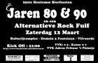 Flyer van Jaren 80 & 90 Fuif
