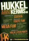 Flyer van Hukkelkermis - Halve liter party