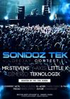 Flyer van Sonidoz Tek presents ' Dj contest '