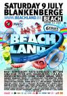 Flyer van Beachland