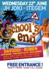 Flyer van School's end 2011
