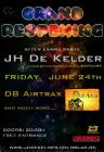Flyer van Grand Reopening JH De Kelder