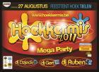Flyer van Hoekkermis 2011