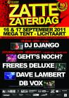 Flyer van Zatte Zaterdag (Birthday Bash)