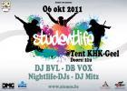 Flyer van Studentlife