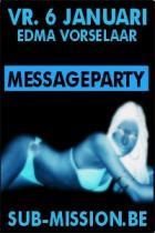 Flyer van messageparty