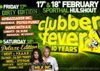 Flyer van Clubber Fever - Dirty Edition