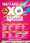 Flyer van Extrema Outdoor Belgium 2012