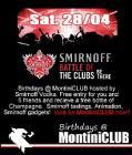 Flyer van Birthdays - Battle of the Clubs