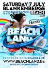 Flyer van Beachland 2012