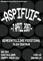 Flyer van Aspifuif