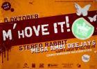 Flyer van M'hOVE IT! 2012