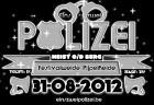 Flyer van Eins, zwei Polizei