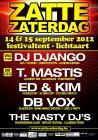 Flyer van Django @ Zatte Zaterdag