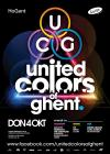 Flyer van United Colors of Ghent