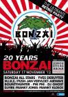 Flyer van 20 Years Bonzai