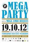 Flyer van The Poppy's Mega Party