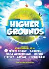 Flyer van Higher Grounds