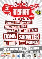 Flyer van Ansarat 2007